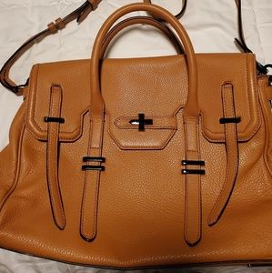 Rebecca Minkoff Large Jules Satchel in Almond